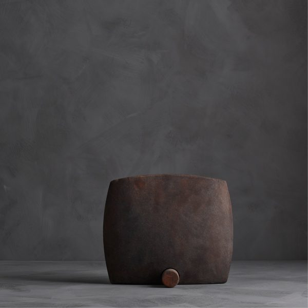 Guggenheim Vase, Square – Coffee